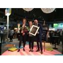 Pris för årets lounge på Business Arena