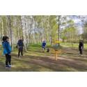 Succéstart på säsongen – rekordsommar väntar discgolfparken i Järva