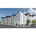 Småa bygger 200 hyresrätter och bostadsrätter i Barkarbystaden