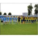 Måns Zelmerlöw spelar fotboll för välgörande ändamål
