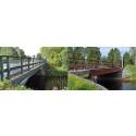 Två broar i Hörnefors får namn
