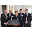 Formal opening of Lewis Castle, Museum and Archive