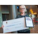 Pedagogiskt pris till Eva Thurfjell på Rinkaby förskola