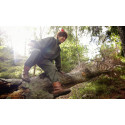Skogsmulle ger barnen en hinderbana i midsommarpresent
