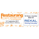 Restaurangexpo i Göteborg 6-7 september 2017
