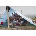 Oväder förvärrar situationen för barnen i Nepal