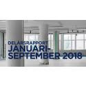 Delårsrapport januari-september 2018 Stendörren Fastigheter AB (publ)
