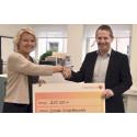 Stor donation från Fria Bröd till celiakiforskning