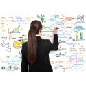 Snabbväxande konsultbolag satsar mer på marknadsföring än andra