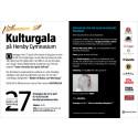 Inbjudan Kulturgala