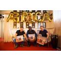 Svenska producenterna Bacall & Malo har nu sålt dubbel platina med Africa!