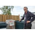 Jan-Olof Åström samordnar Stora Nolias avfallshantering.