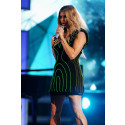 Fergie Goes 'Boom Boom Pow' in Philips Light Dress At Billboard Awards