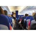 Trånga flygstolar irriterar mest på resan