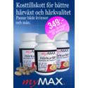 MyMax hårkur gör håret friskare och starkare