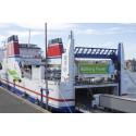 Bra flyt för batteridriften på Stena Jutlandica