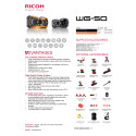 Ricoh WG-50, specifikations
