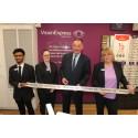 Local MP Jon Cruddas opens new Rainham optical store