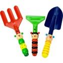 Set med trädgårdsverktyg