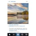Sveriges officiella Instagramkonto ett av de största i Europa
