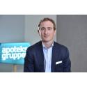 Erik Sjögren blir ny försäljningschef på Apoteksgruppen
