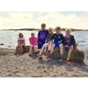 Sommarvecka på Tanumstrand skapar utbyte för familjer med njursjuka barn