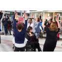 Watch our Flashmob video to raise awareness of Hate Crime