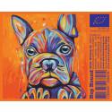 Konstnär Paula Fägnells konst pryder Sthlm Brewings etikett till Hop Hound Pale Ale