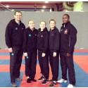 Karatelandslaget varmer opp i Egypt