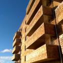 Klimatsnålt med höghus i trä