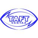 TAFT Vantaan logo uudistuu