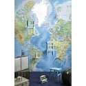 World Map Detailed - Photowall