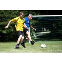 Lars Ohly och Gustav Fridolin spelar Unified fotboll