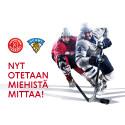 Sydänliitto ottaa miehistä mittaa jääkiekon Karjala-turnauksessa