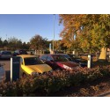 CLEVER erbjuder elbilsladdning vid Sjöbo busstation