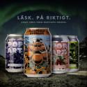 Nu lanseras craftläsken Pop Art Soda och Hjortron Granat på bred front!
