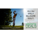 Nya tjänsten Greenfeedeals samlar unika golferbjudanden