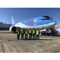 TUI uudistaa pohjoismaista lentolaivastoaan ja vastaanottaa ensimmäisen 737 MAX -koneen