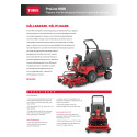 Produktblad Toro ProLine H800