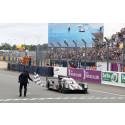 Startnummer 1 og 2 til Porsche 919 Hybrid i Le Mans og i FIA WEC