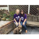 Oxford best friends take a Step Out for Stroke in Abingdon