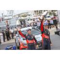 Hyundai Motorsport tar årets andra WRC-seger i Rally Italia Sardegna