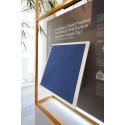 Interface lanserar en textil golvplatta med positiv klimatpåverkan