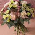 Blomsterbukett er morsdag