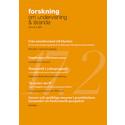 Nytt nummer av Forskning om undervisning och lärande, 2017: 2, vol. 5