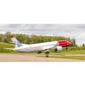 Norwegian med internasjonal vekst og 14 prosent flere passasjerer i september