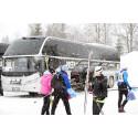 Klimatsmart resande med Vasaloppsbussar från Stockholm och Göteborg