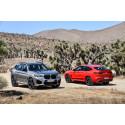 BMW:ltä huipputehokkaat M-versiot X3- ja X4-malleista
