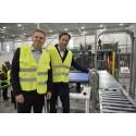 Dagabs nya automatiserade lager i Jönköping invigt