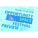 Pressinbjudan: Förhandsvisning av Opportunity Space Festival
